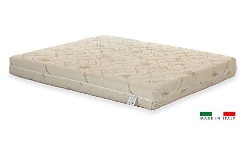 Materasso Lattice 100% Matrimoniale modello NUVOLA misura 160x190 con sette zone di portanza differenziata
