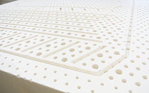 Un ottimo materasso per gli amanti dei prodotti naturali. Materasso 100% in lattice naturale di Baldiflex.
